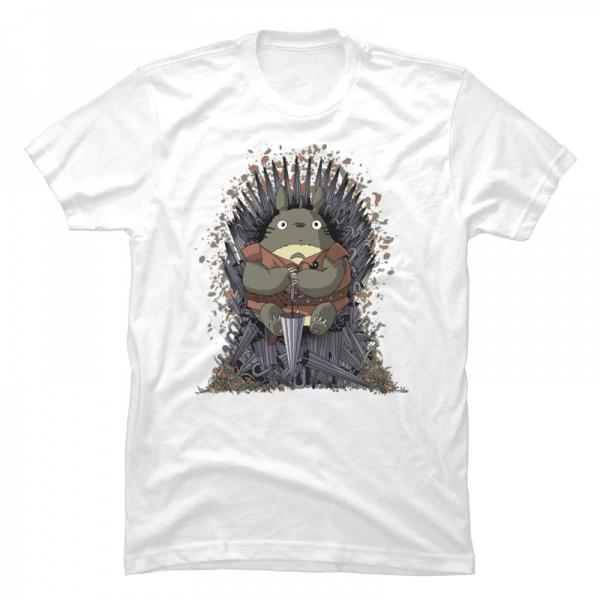 Totoro Game of Throne T Shirt - ghibli.store