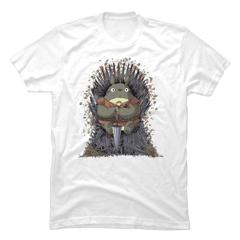 Totoro Game of Throne T Shirt - ghibli.store