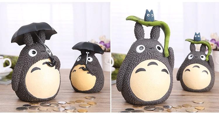 My Neighbor Totoro with Umbrella Piggy Bank - ghibli.store