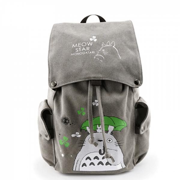 My Neighbor Totoro Canvas Backpack - ghibli.store