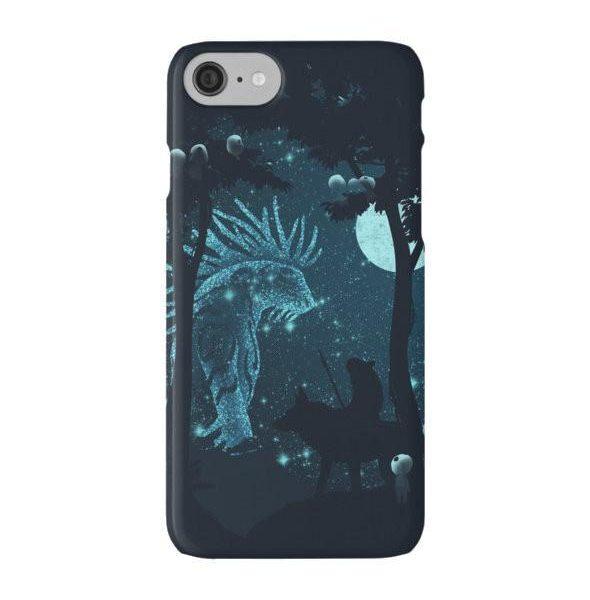 Princess Mononoke Forest Spirit phone case - ghibli.store