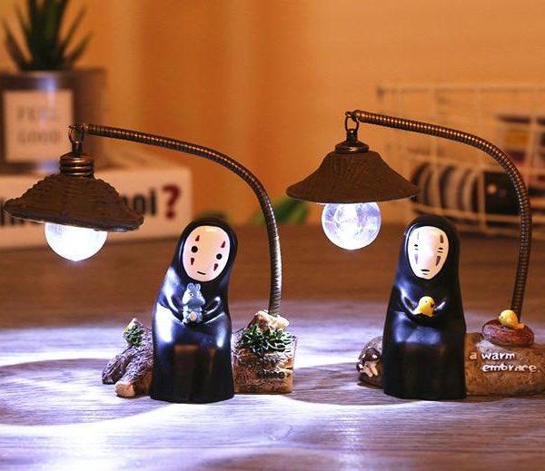Spirited Away No Face Kaonashi Figures Toy LED Light - ghibli.store