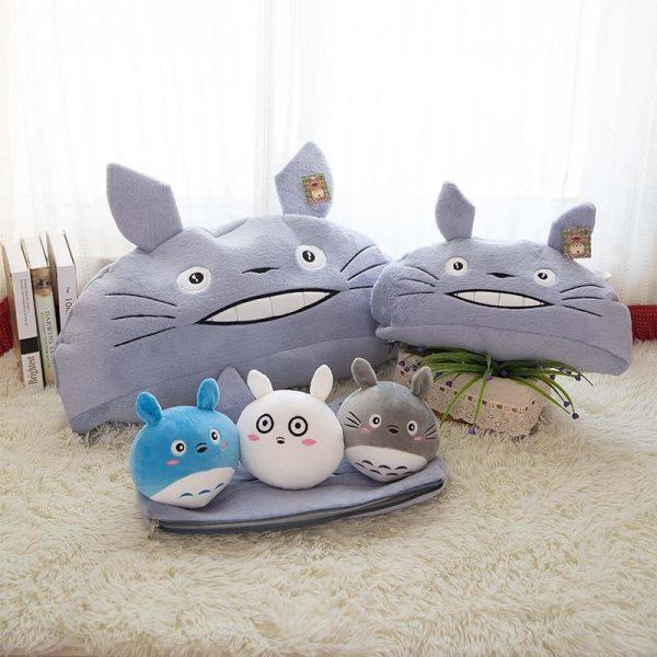 My Neighbor Totoro Giant Stuffed Pillow 3 Sizes 45 To 70 cm - ghibli.store