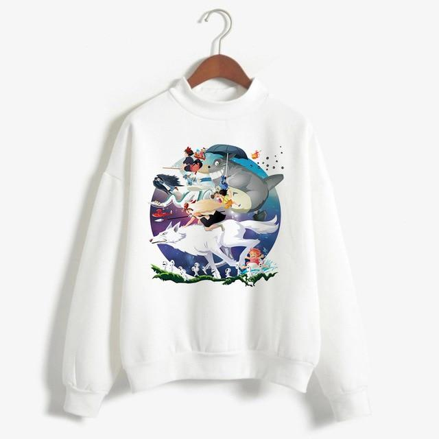 Ghibli Studio Characters Sweatshirt for Women - ghibli.store