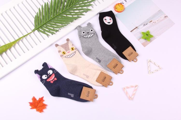 Ghibli Characters Socks 4 Styles - ghibli.store