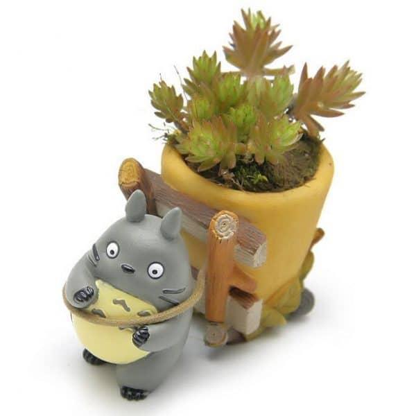 My Neighbor Totoro Flower Pot Figure 5cm - ghibli.store