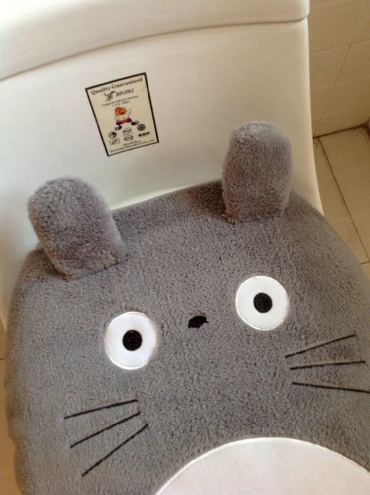 My Neighbor Totoro Toilet Seat Cover Mat - ghibli.store