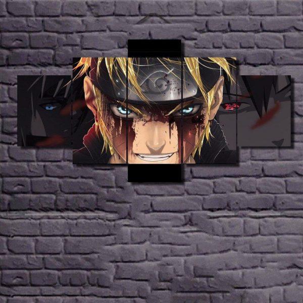 Naruto Anime Wall Art - ghibli.store