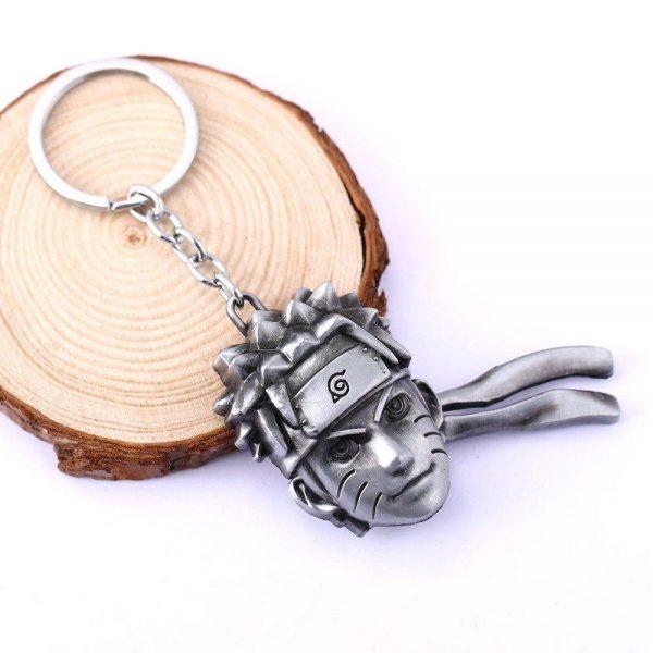 Naruto Head Metal keychain - ghibli.store