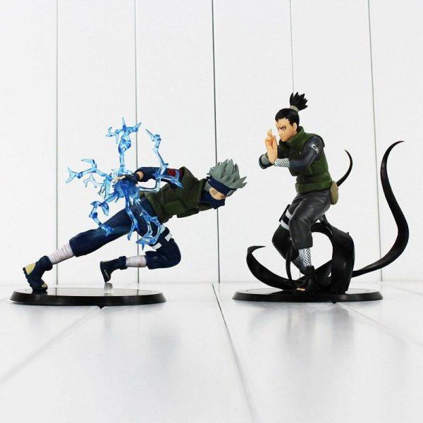 Shikamaru Kakashi PVC Toy Figure 15cm - ghibli.store