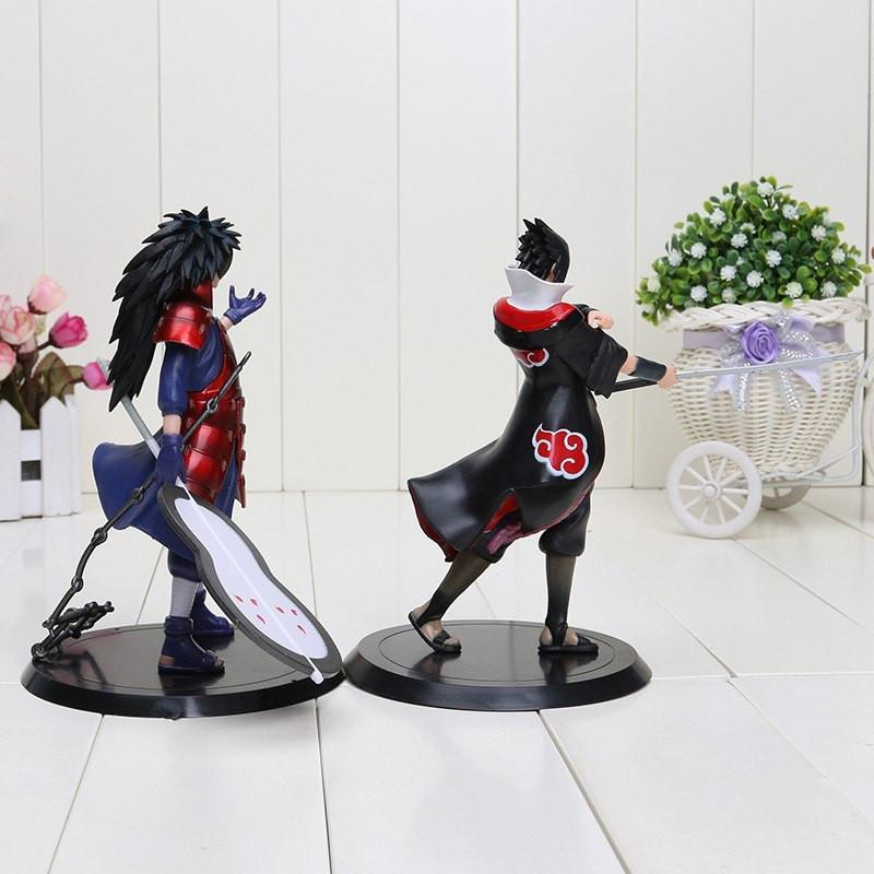 Uchiha Madara + Uchiha Sasuke Toys Figures Set - ghibli.store
