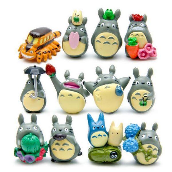 My Neighbor Totoro Mini Garden Decoration 12pcs/set - ghibli.store