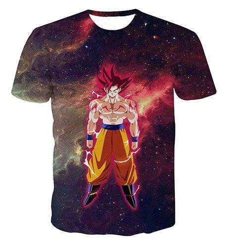 Dragon Ball Z Galaxy 3D Tshirts 4 Styles - ghibli.store