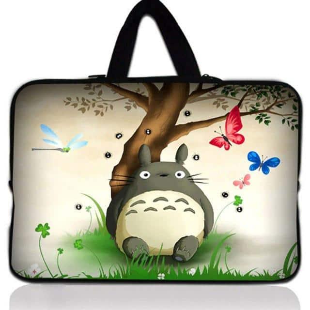 Totoro Laptop Bag For Macbook IPad Dell Asus - ghibli.store