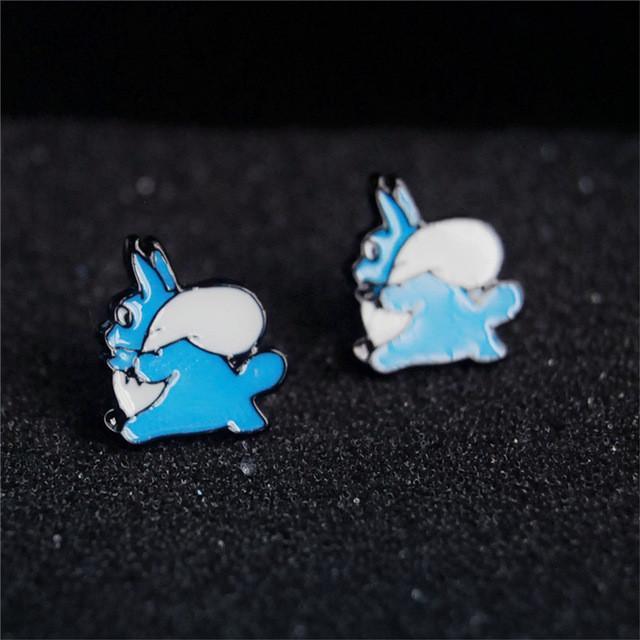 My Neighbor Totoro stud earrings - ghibli.store