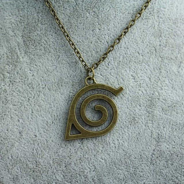 Naruto Leaf Symbol Necklace - ghibli.store