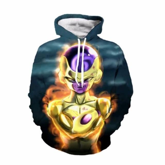 Anime Dragon Ball Z Freeza 3D Sweatshirts - ghibli.store