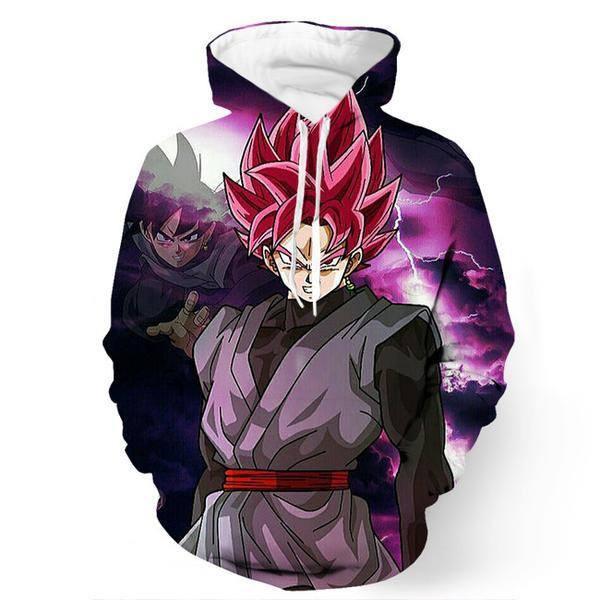 Dragon Ball Z 3d Pullovers Sweatshirts 6 Styles - ghibli.store