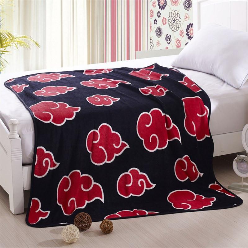 Naruto Akatsuki Soft Warm Blanket - ghibli.store