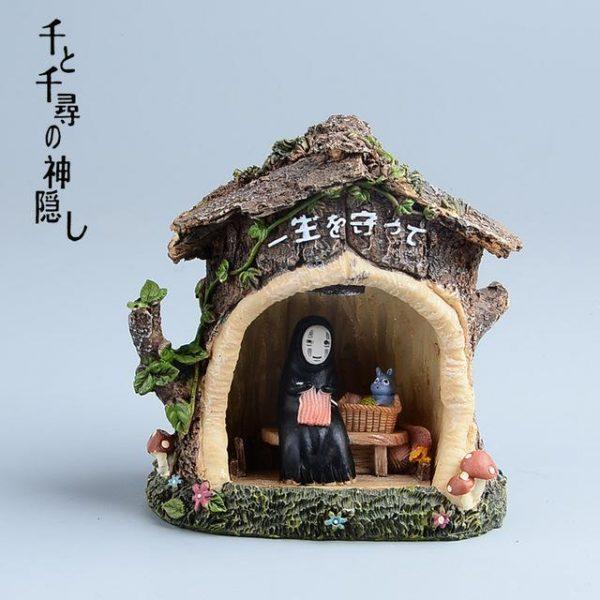 Spirited Away No Face Kaonashi LED Light Figure - ghibli.store
