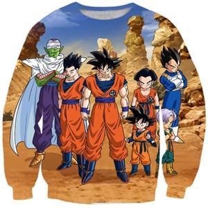 Dragon Ball Z 3D Men Sweatshirt 6 Styles - ghibli.store