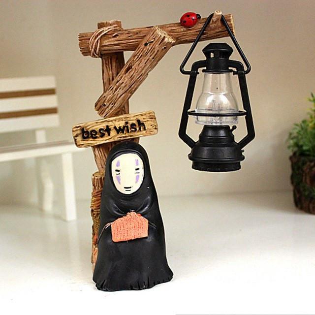 Spirited Away Kaonashi No Face LED NightLight Figure - ghibli.store