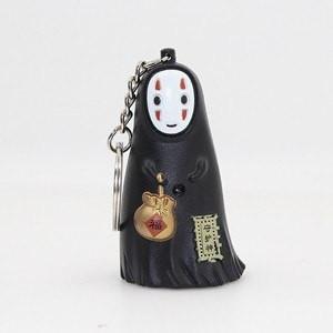 Spirited Away No Face Kaonashi LED keychain with sound - ghibli.store