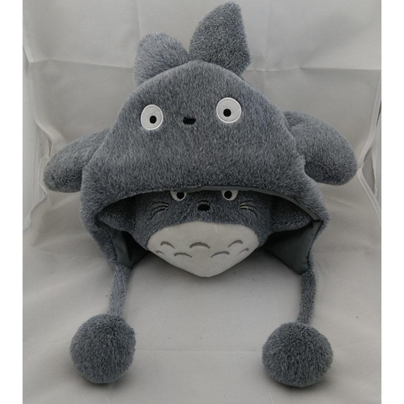 My Neighbor Totoro Plush Winter Cap - ghibli.store
