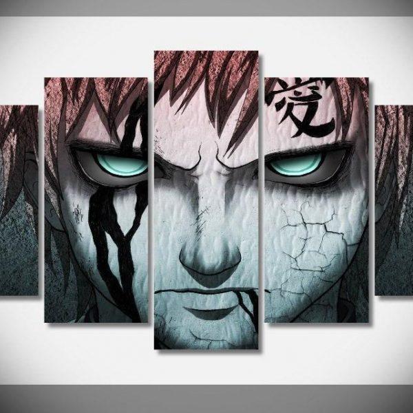 Naruto Gaara Wall Art - ghibli.store