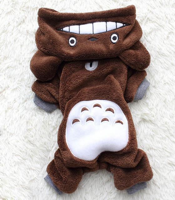 My Neighbor Totoro Winter Pet Costume - ghibli.store