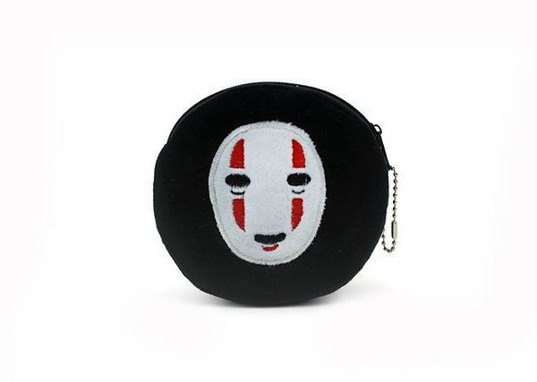 Spirited Away Kaonashi No Face Plush Coin Purse - ghibli.store