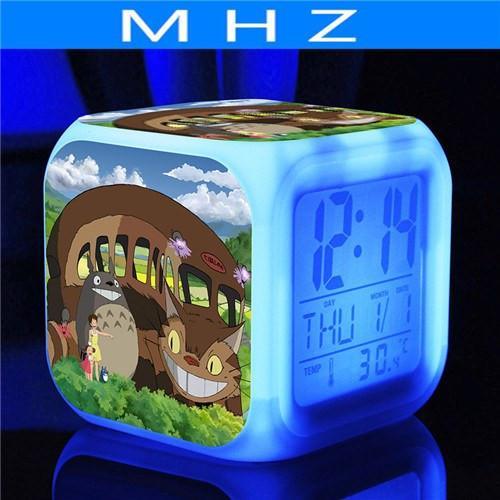 Totoro Led Digital Clock - ghibli.store