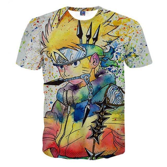 3D NARUTO T Shirt Unisex - ghibli.store