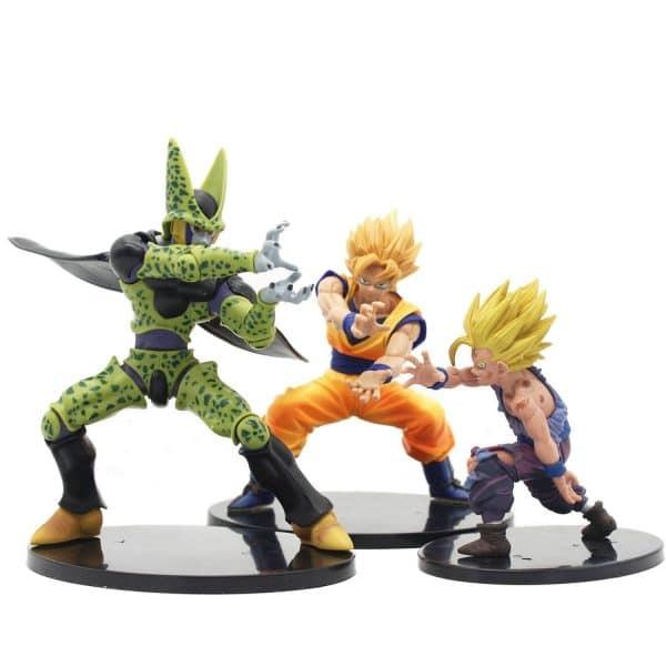 Dragon Ball Z Cell Son Goku Gohan Tenkaichi Budokai Figure 18Cm - ghibli.store