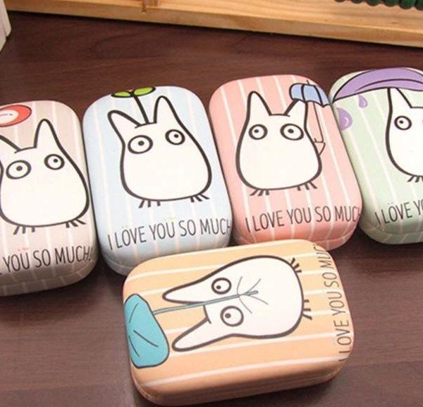 My Neighbor Totoro PU Leather Contact Lenses Box - ghibli.store