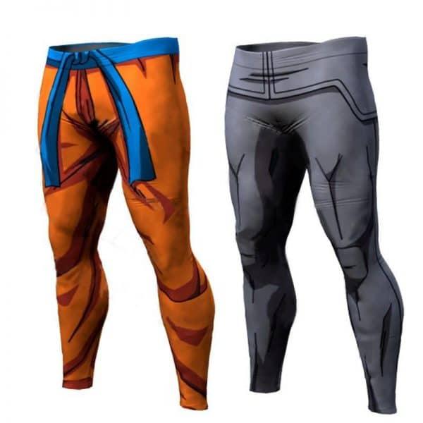 Dragon Ball Z Vegeta Goku 3D Trousers - ghibli.store