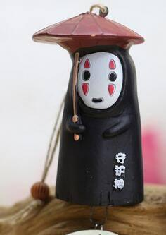 Studio ghibli No Face Wind chimes - ghibli.store