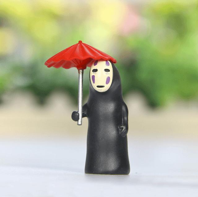 Studio Ghibli Spirited Away No Face Translucence Figures - ghibli.store