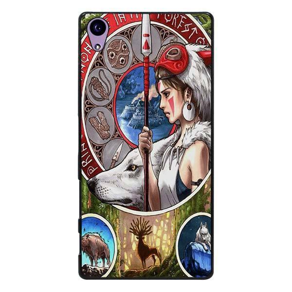 Princess Mononoke Phone Case for Sony - ghibli.store