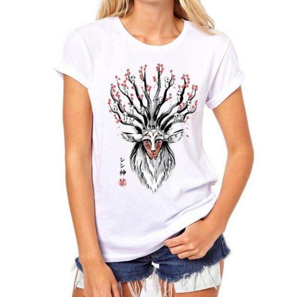 Princess Mononoke Forest Spirit Shishigami T shirt - ghibli.store