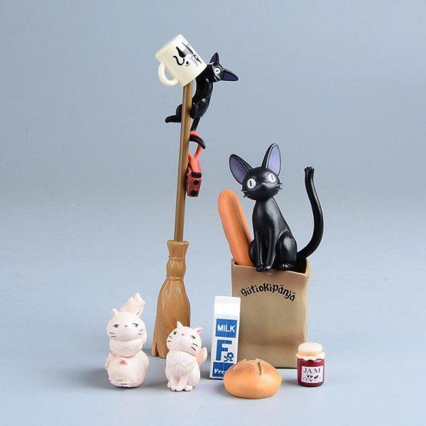 Kiki's Delivery Service Jiji Figure - ghibli.store