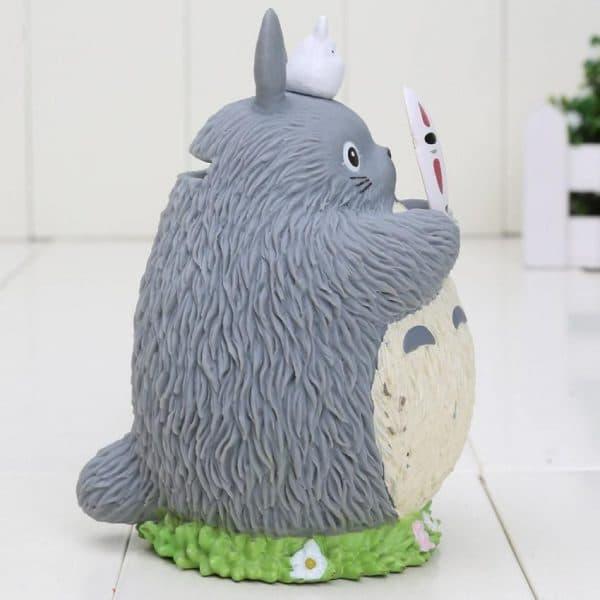 My Neighbor Totoro Cosplay No Face Kaonashi Piggy Bank - ghibli.store