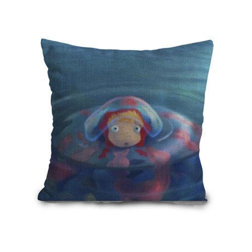 Ponyo Printed Cushion Covers - ghibli.store
