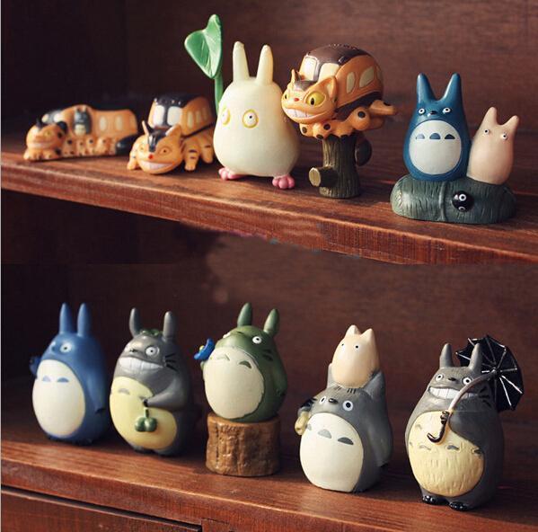 My Neighbor Totoro Mini Figures 10pcs/set - ghibli.store