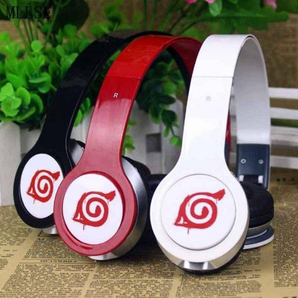 Naruto Leaf Foldable Headphone - ghibli.store