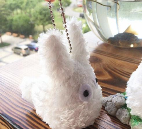 My neighbor Totoro Chibi Plush Keychain 8Cm - ghibli.store
