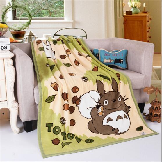 Totoro Blanket 90cmX120cm - ghibli.store