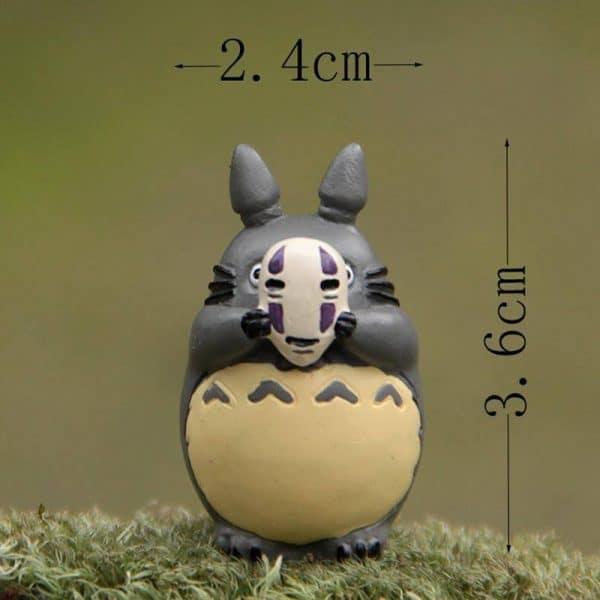 Totoro Cosplay No Face Figure - ghibli.store