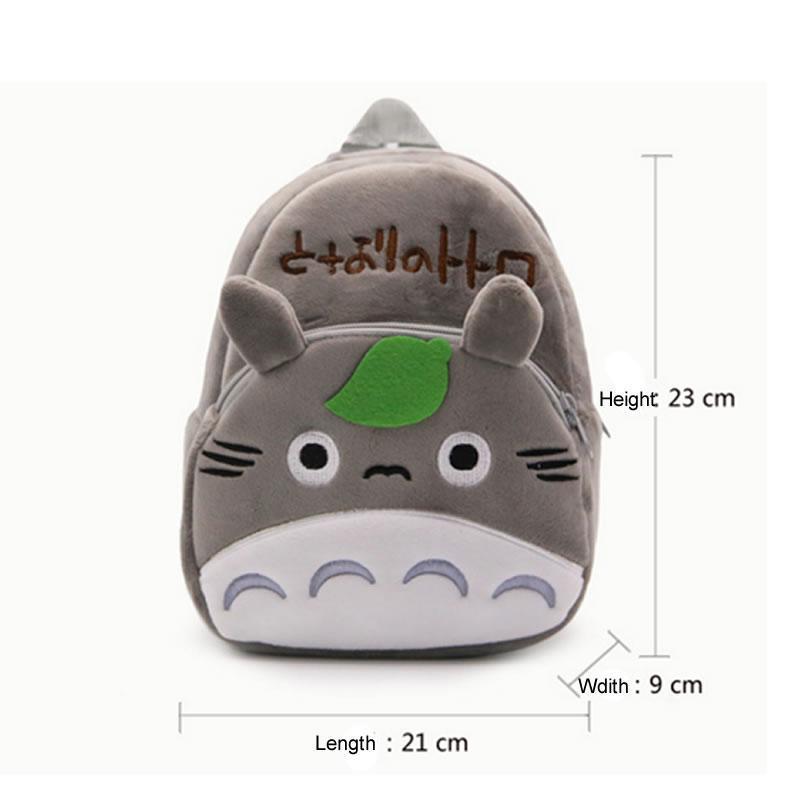 Totoro Plush Kid Backpack - ghibli.store
