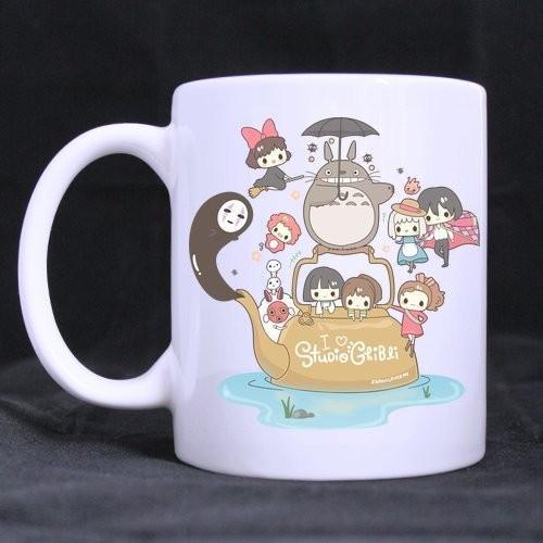 Studio Ghibli Characters mugs 17 Styles - ghibli.store